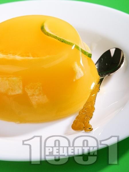 Портокалово желе с лайм - снимка на рецептата